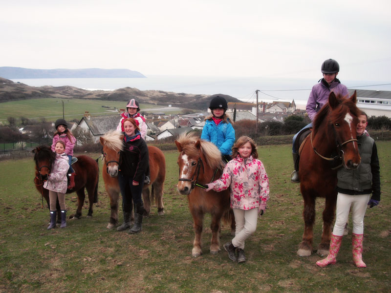 Horse and Pony Riding in Woolacombe, North Devon